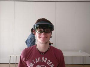 AR-Brille Microsoft Hololens