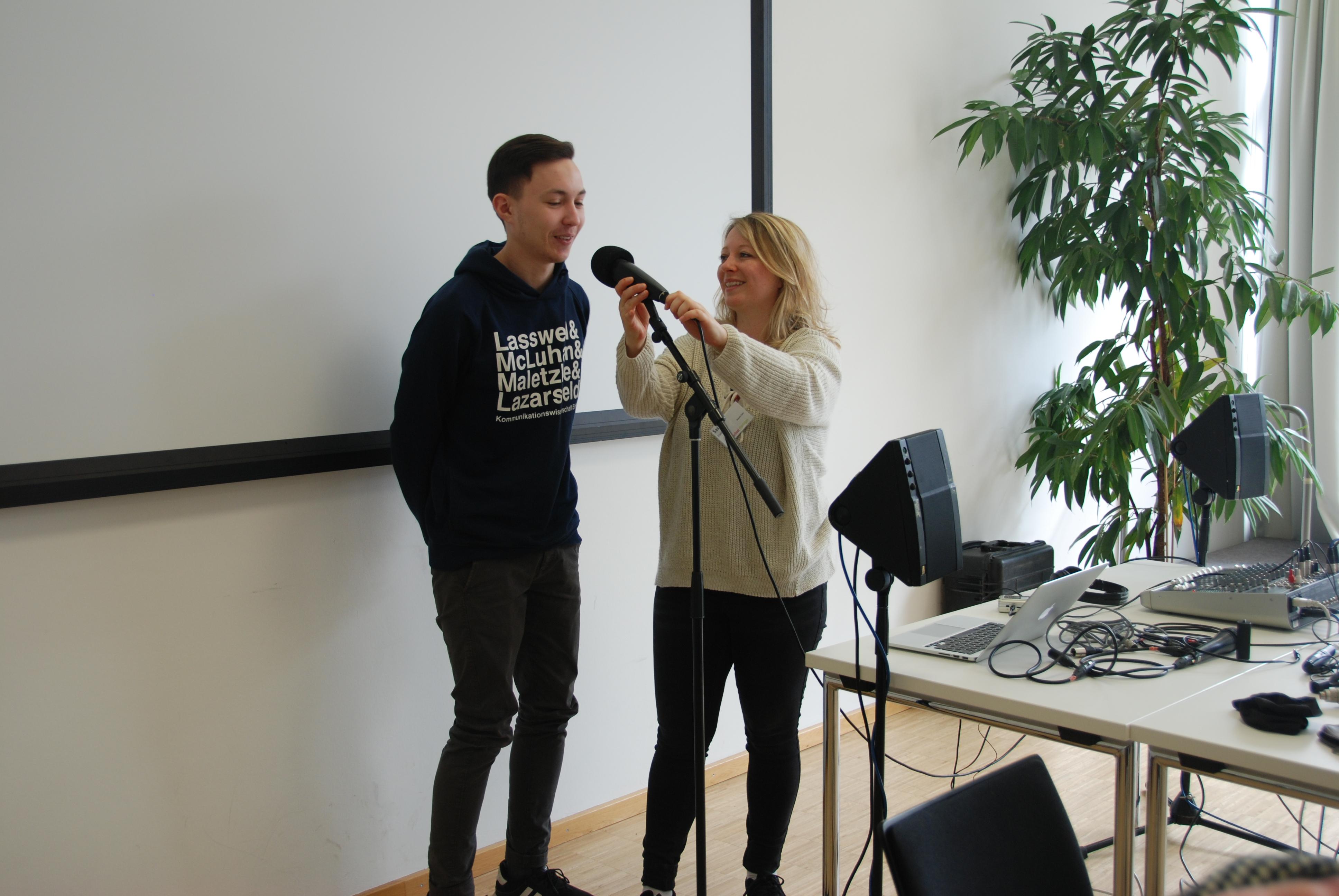 Tag 9 Und 10 Radio Podcast Und Mehr Springschool Thüringen